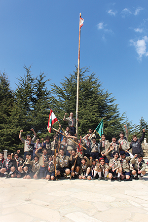 Scouts Camp Pacques 14